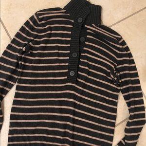 Tory Burch cashmere stripe sweater. Size small.